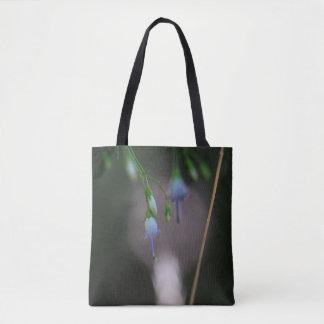 Appalachian Bellflower Blue Wildflower Tote Bag