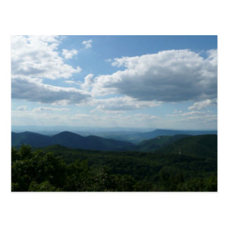 Appalachian Mountains II Shenandoah Postcard