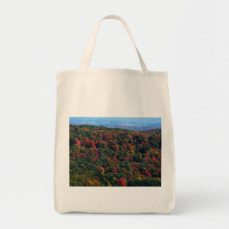 Appalachian Mountains in Fall Nature Photography Grocery Tote Bag