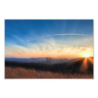 Appalachian Mountains Sunset Photo Print
