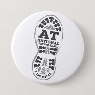 Appalachian National Scenic Trail 7.5 Cm Round Badge