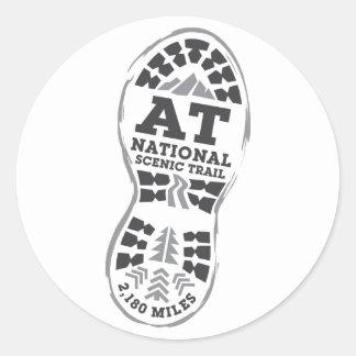 Appalachian National Scenic Trail Classic Round Sticker