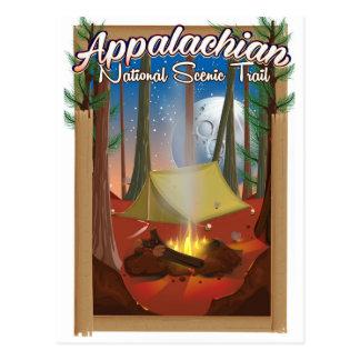 Appalachian National Scenic Trail Postcard