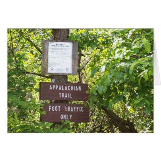 appalachian trail card