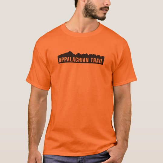 Appalachian Trail (Elevation) - Blaze Orange T-Shirt