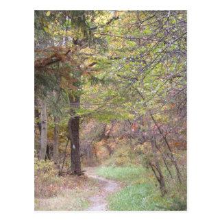 appalachian trail fall pennsylvania postcard