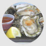appalachicola oysters round stickers