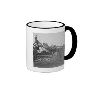 Appalling Accident at Farmington River  (B&W) Coffee Mugs
