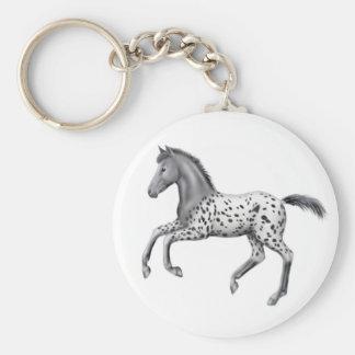 Appaloosa Foal Keychain