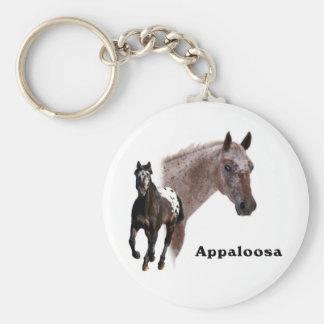Appaloosa Horse Basic Round Button Key Ring