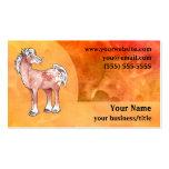 Appaloosa Horse Business Card - Fiery Orange