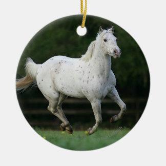 Appaloosa Horse Running 1 Christmas Ornament