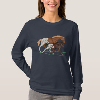 Appaloosa Mare and Foal t-shirt