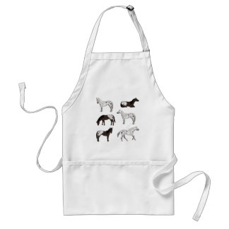 Appaloosa selection standard apron