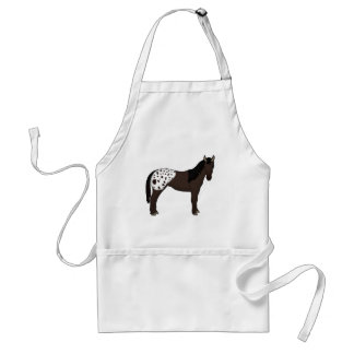 Appaloosa stands for head in front standard apron