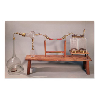 Apparatus for studying fermentation posters