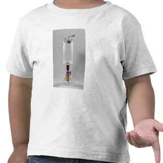 Apparatus for studying gas t shirt