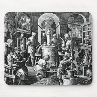 Apparatus of Distillation in Alchemy Mouse Pad
