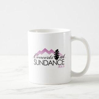 Apparel, coffee mugs, concerts at sundance basic white mug
