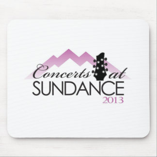 Apparel, coffee mugs, concerts at sundance mouse pad
