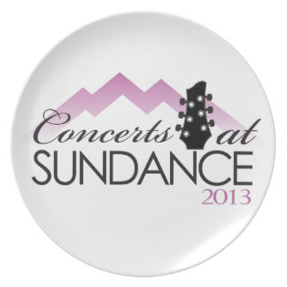 Apparel, coffee mugs, concerts at sundance dinner plates