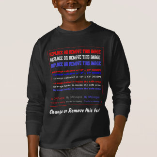 Apparel Dark Only Any Child  Front Tee Shirt