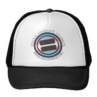 Apparel - Large Transgender Round with round text Cap
