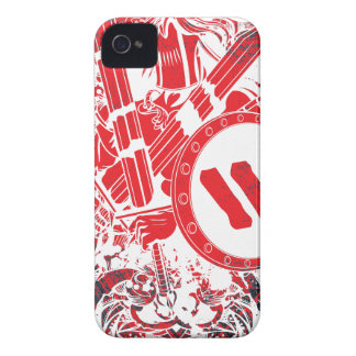 Apparel Mega Battle Warrior Fighter iPhone 4 Cover