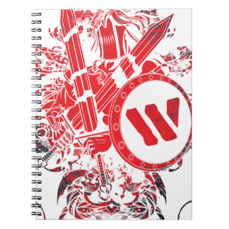 Apparel Mega Battle Warrior Fighter Notebook
