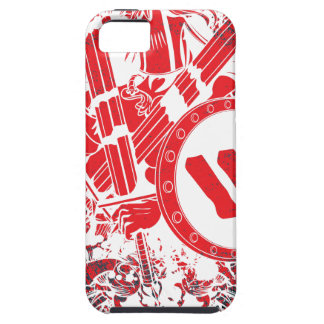Apparel Mega Battle Warrior Fighter Tough iPhone 5 Case