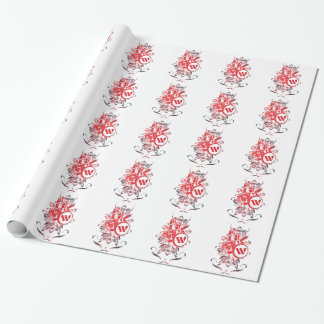 Apparel Mega Battle Warrior Fighter Wrapping Paper