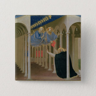 Apparition of SS. Peter and Paul to St. 15 Cm Square Badge