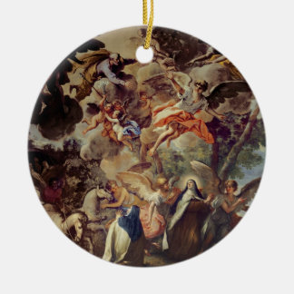Apparition of St. Joseph to St. Theresa Christmas Ornament
