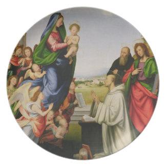 Apparition of the Virgin to St. Bernard, 1504-07 ( Plates