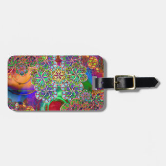 Apparitions And Flowers Luggage Tag