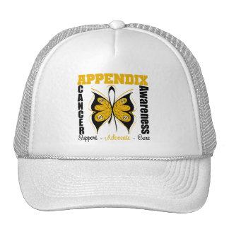 Appendix Awareness Butterfly Trucker Hats