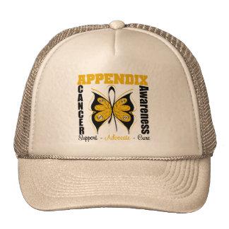 Appendix Awareness Butterfly Mesh Hat