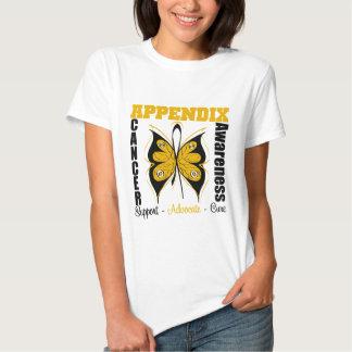Appendix Awareness Butterfly T Shirts