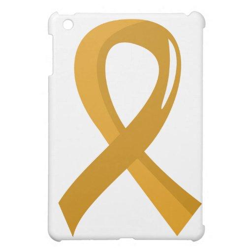 Appendix Cancer Amber Ribbon 3 Case For The iPad Mini