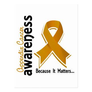 Appendix Cancer Awareness 5 Postcard
