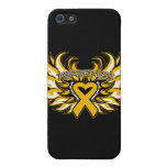 Appendix Cancer Awareness Heart Wings.png Cases For iPhone 5