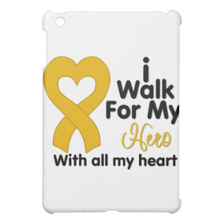 Appendix Cancer Awareness I Walk For My Hero iPad Mini Cases