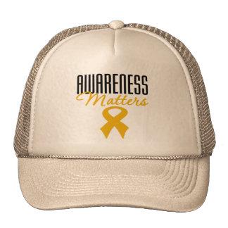 Appendix Cancer Awareness Matters Hat