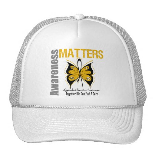 Appendix Cancer Awareness Matters Mesh Hat