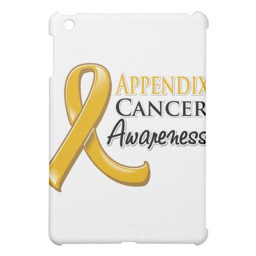 Appendix Cancer Awareness Ribbon iPad Mini Cases