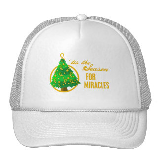 Appendix Cancer Christmas Miracles Trucker Hats