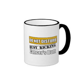 Appendix Cancer Do Not Disturb Kicking Butt Coffee Mug
