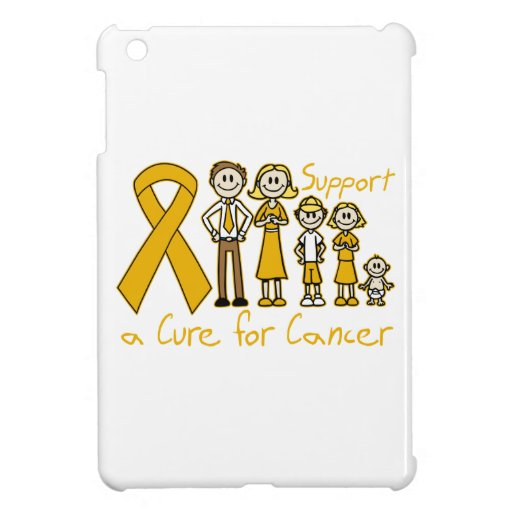 Appendix Cancer Family Support A Cure iPad Mini Covers
