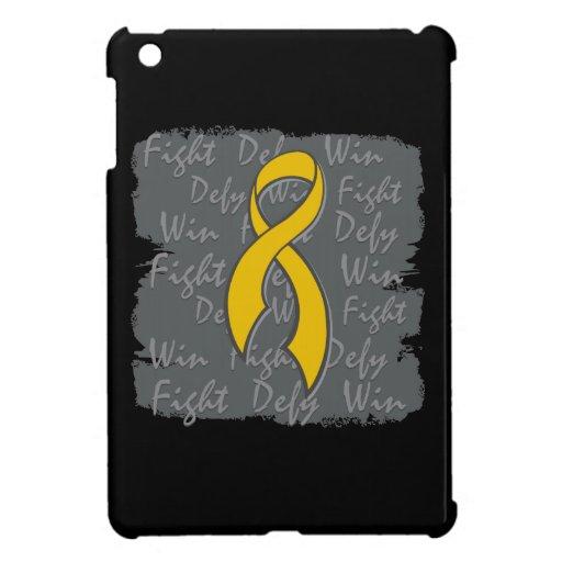 Appendix Cancer Fight Defy Win iPad Mini Cases