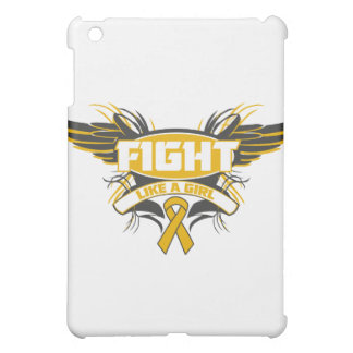 Appendix Cancer Fight Like a Girl Wings.png Cover For The iPad Mini